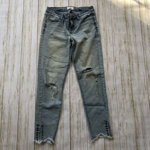 ❤️Celebrity Pink distressed jeans